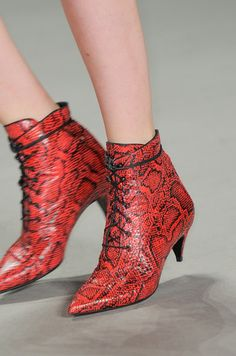 YES!!! Saint Laurent SS14...So happy the kitten heel is back. No more killing ourselves for fashion.