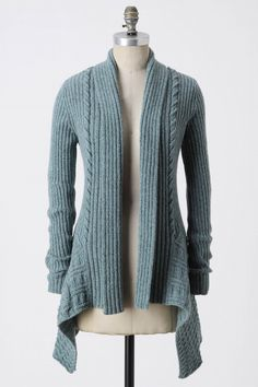 Knitting Needle Cardigan from Anthropologie