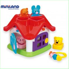 Baby & Toddler Toys Online Miniland Quattro Baby Activity Toys Green Ant Toys Online Toy Store http://www.greenanttoys.com.au/shop-online/baby-toddler-toys/