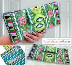 Tutorial: Ribbon covered wallet