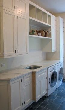laundry room cabinets | Cabinets - traditional - laundry room - chicago - by Birom Cabinetry ...