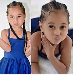 Example Of Black Girls Hairstyles Natural Short Kids To Inspire You 54 Mixed Kids Hairstyles, Lil Girl Hairstyles, Kids Braided Hairstyles, Little Girl Braids, Braids For Kids, Girls Braids, Kid Braids, Tree Braids, Curly Hair Styles
