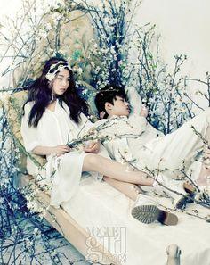 Vogue Girls holy matrimony Photo Shoot