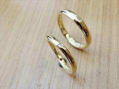 material:k18yg wide:2.5mm/3mm option:diamond,birthstone  http://www.yubiwatsukuru.com/