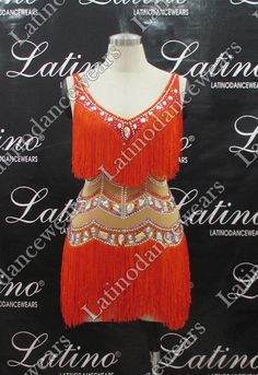 LATIN SALSA COMPETITION DRESS LDW (LT792) LATIN-SALSA-COMPETITION-DRESS-LDW-LT792 Latino Dancewears