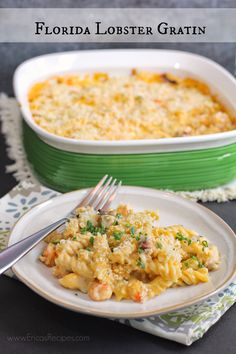 Florida Lobster Gratin | EricasRecipes.com