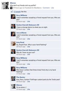 Doctor Who on Facebook