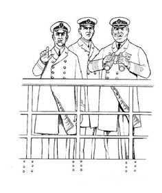 Coloring Page - Titanic coloring pages 2