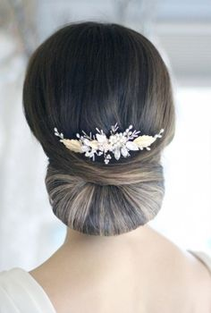Luna Comb/Vine Handmade bridal hair accessories from Donna Crain. See the entire collection at www.donnacrain.comor come and visit me in person. I offer a bespoke service too so do get in touch if you are looking for something different. X