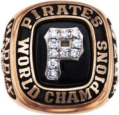 1979 Pittsburgh Pirates World Championship Ring Presented to Harvey Haddix