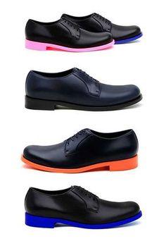 Zapatos suela color