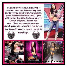 """""""WWE AJ Lee"""" by mecat-848 ❤ liked on Polyvore featuring art"""