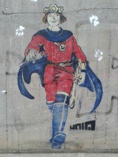 Berlin Berlin Graffiti, Spiderman, Disney Characters, Fictional Characters, Joker, Superhero, Painting, Spider Man, Painting Art