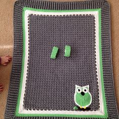 Keep your kids cozy with this fun car seat crochet blanket
