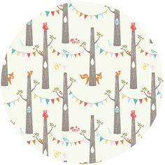 Monaluna for Birch Organic Fabrics, Circa 52, KNIT, Woodland Party