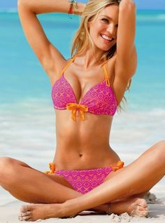 Victoria's Secret model Candice Swanepoel, swinsuit