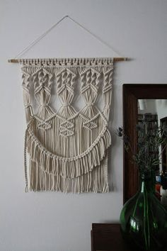 Image result for macrame wall hanging step by step youtube