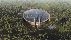 World's largest waste-to-energy plant in China will be topped with green roofs and photovoltaics