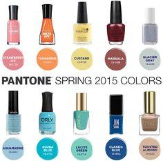 Pantone Spring Polishes