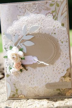 Love this card by Tracey