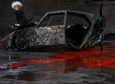 Scene from Inferno, written and directed by Romeo Castellucci, 2008