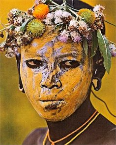 Mursi tribe - Omo Valley, Ethiopia, Africa by Hans Silvester African Tribes, African Art, We Are The World, People Around The World, Art Afro, Mursi Tribe, Tribal Face, Arte Tribal, Art Premier