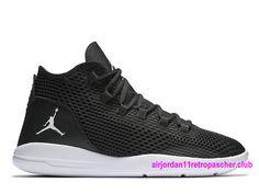 Air Jordan Reveal Prix Homme Chaussures Pas Cher Noir/Blanc-834064_010…