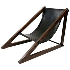 1STDIBS.COM - Red Modern Furniture - Handsome Rosewood Brazilian Sling Chair ($500-5000) - Svpply