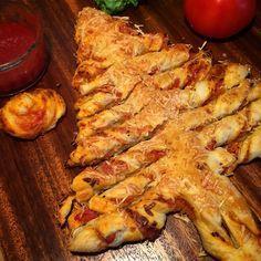 Le pizzapin est une pizza en forme de sapin, simple non ?