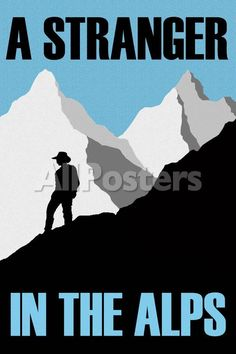 A Stranger In the Alps Movie Poster Movies Poster - 61 x 91 cm