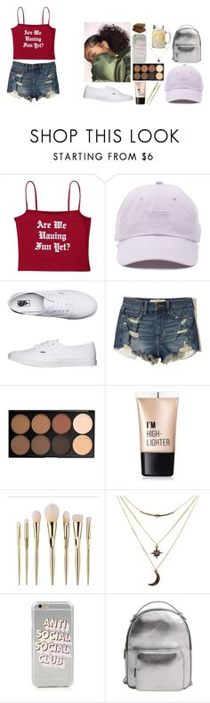 """""""""""I don't write songs for free, I write them for freedom""""💫♥️"""" by lowkey-fashion ❤ liked on Polyvore featuring Vans, Hollister Co., Morphe, Charlotte Russe and MANGO"""