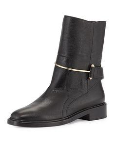 Balenciaga Metal-Bit Ankle Boot