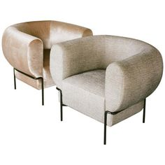 Contemporary Madda Lounge Chair in Pixel Phantom Velvet For Sale at Modern Leather Sofa, Modern Sofa, Modern Chairs, White Leather, Antique Chairs, Vintage Chairs, Sofa Sale, Contemporary Sofa, Lounge Sofa