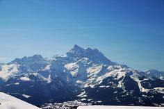 Our home in the mountains - Villars, Switzerland.