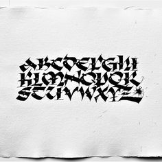 Uncial #calligraphy #lettering #art #textura #typography #script #dailytype #typedaily #design #typographyinspired #letters #goodtype #typegang #drawing #handlettering #scriptlettering #typographyinspired #typedaily #dailytype #uncial #handmadefont #tyxca