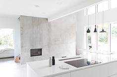 betoni,minimalistinen,mustavalkoinen,moderni