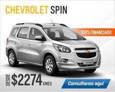 Plan Chevrolet Spin 100% financiado