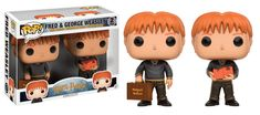 Harry Potter Funko Pop Fred and George Weasley 2-Pack - Funko POP!/Pop! Harry Potter - Little Geek
