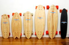 Awesome! Glide Skateboards eco friendly surf inspired craft by fuhnetik, $275.00