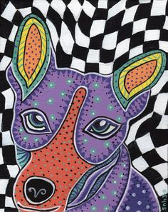 Rat Terrier art