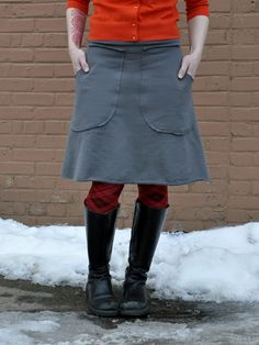 I have this skirt in brown, and in green. I need it in every color. Best skirt ever