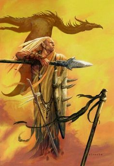 The Bravery of Kaipo and His Dragon -Ciruelo Cabral High Fantasy, Fantasy Rpg, Medieval Fantasy, Dark Fantasy Art, Fantasy World, Fantasy Heroes, Fantasy Warrior, Fantasy Characters, Paladin