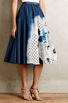 Moonflower Skirt - anthropologie.com #anthrofave