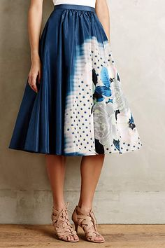 Moonflower Skirt #anthroregistry