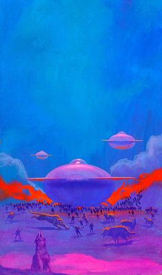 translucentmind:  The Laughter at Night // Paul Lehr