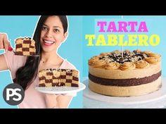 TARTA TABLERO | FÁCIL, LIGERA Y SALUDABLE | #ESPECIALDÍADELPADRE - YouTube