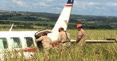 Avião com Angélica e Luciano Huck faz pouso forçado em MS