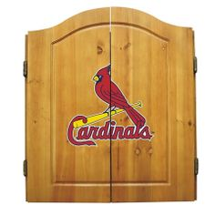 Use this Exclusive coupon code: PINFIVE to receive an additional 5% off the St. Louis Cardinals Dart Cabinet at SportsFansPlus.com