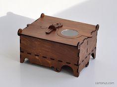 Jewelry box Maestro by cartonus