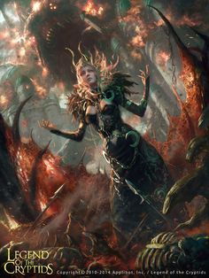 ArtStation - Astral Shamaness Silmaria, Choi Yongjae